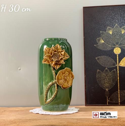 lọa hoa sứ đẹp hình hoa sen