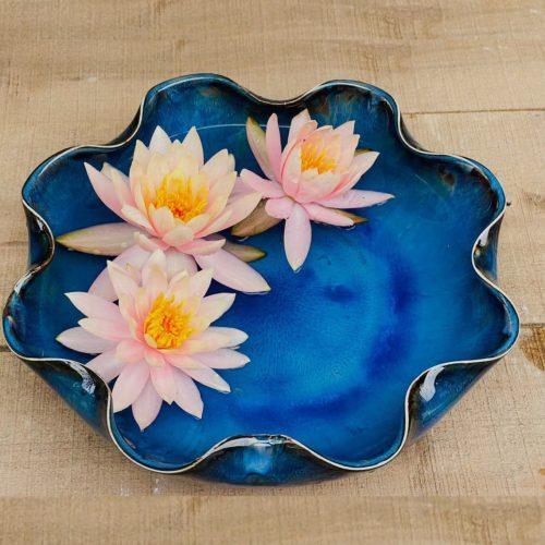 địa chỉ bán bát thả hoa tụ lộc chuẩn gốm sứ b