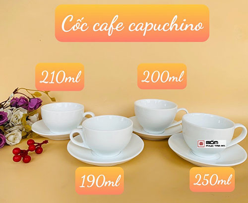 mua coc cafe cappuchino mua ly cafe cappuchino gia coc su cafe cappuchino