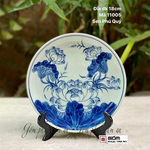 bán tranh đĩa gốm sứ cao cấp chất lượng bán tranh