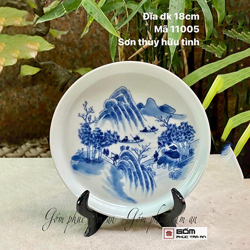xưởng sản xuất đĩa gốm sứ phong thủy giá rẻ