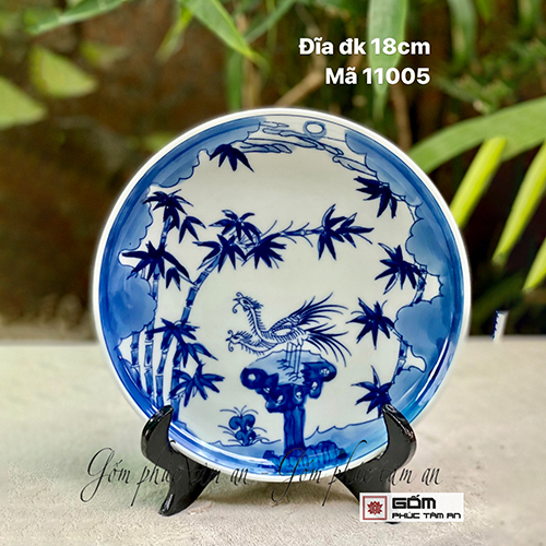xưởng sản xuất đĩa trưng bày gốm sứ bát tràng c