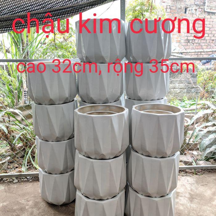 chậu trồng cây trong nhà gốm sứ xuất khẩu